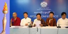 Press release in Dharamsala