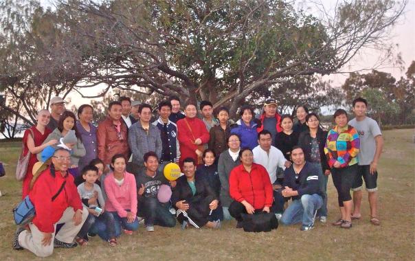 Community group photo